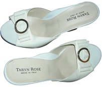 Taryn Rose White Sandals