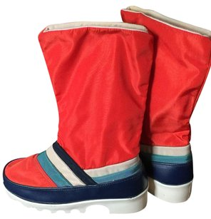 Tecnica Pierre Cardin Red orange Boots