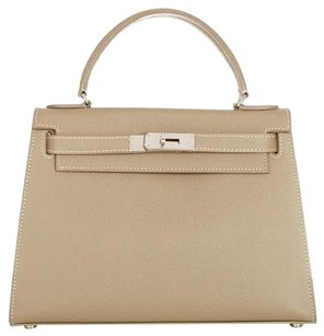 Teddy Blake Satchel in Taupe