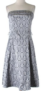 Teeze Me Sleeveless Damask Dress