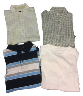 The Children's Place Shirts Size 10/12 Adjustable Waist Gap Button Down Shirt
