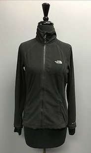 The North Face The North Face Black Fleece High Neck Long Sleeve Zip Up Jacket 2596
