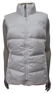The North Face Vests White Jacket