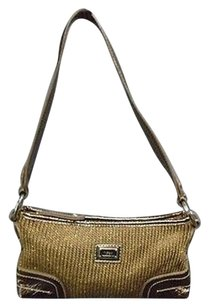 The Sak Metallic Knit Crochet Polyester Casual Sm B3301 Shoulder Bag