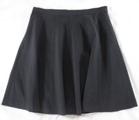 Theory Such A Must Wool Skirt Black