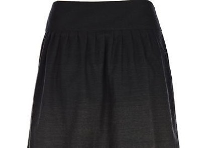 Theory Womens Gray Speckled A Line Skirt Wool Above Knee Casual hot sale