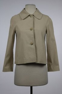 Theory Womens Basic Beige Jacket