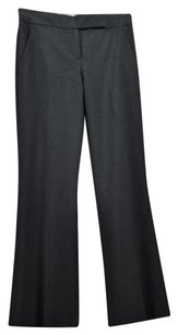 Theory Womens Dress 0 Wool Flare Leg Career Trousers Pants