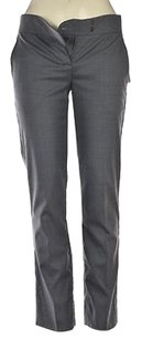 Theory Abiela Womens Stone Dress 0 Speckled Wool Career Pants