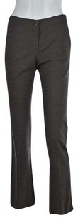 Theory Womens Dress 00 Flare Speckled Wtw Trousers Career Pants