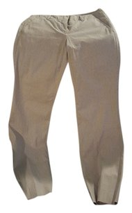 Theory Flare Pants Tan strip