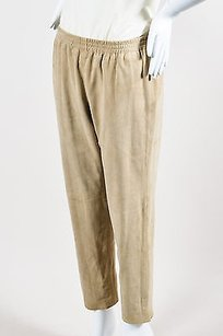 Theory Suede Leather Pants