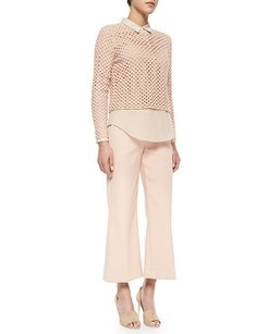Theory Sprinza Wide Leg Crop Irrg Pants