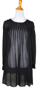Theory Sheer Sequin Dress