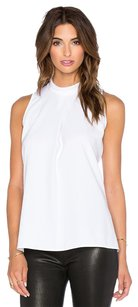 Theory Talniza Crepe Top White