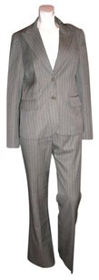 Theory THEORY SUIT GRAY STRIPED SIZE M/6