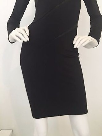 d594768a outlet Thierry Mugler Long Sleeve Black Dress Sz. - www.cleverink.co.uk