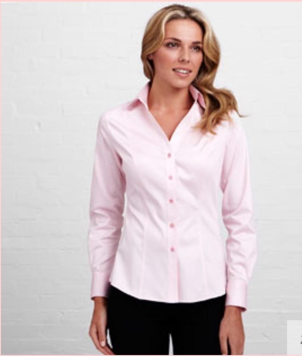 Freebies top button pink