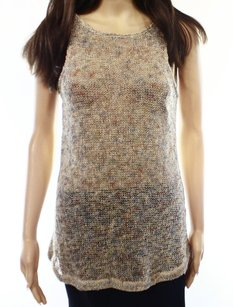 Three Dots Cotton-blends Knit-top New With Tags Size-s 3300-0705 Top