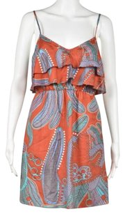 Tibi Womens Printed Dress
