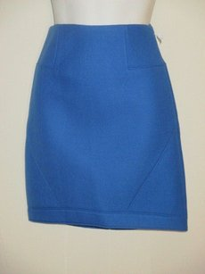 Tibi Cobalt Thick Skirt blue