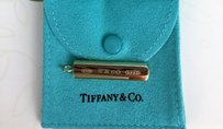Tiffany & Co. 18KT Yellow Gold TIFFANY & CO 18KT Bar Pendant 1837