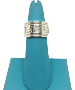 Tiffany & Co. BEAUTIFUL!! Tiffany & Co. Wide Atlas Ring