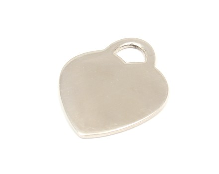 Tiffany & Co. Return To Sterling Silver Large Heart Tag Charm