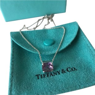 Tiffany & Co. Tiffany Amethyst 1.5 Ct Sparkler Necklace w/ BOX POUCH SHOPPING BAG!