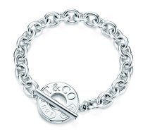 Tiffany & Co. TIFFANY & CO 1837 STERLING SILVER TOGGLE BRACELET 7.5