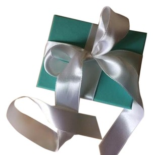 Tiffany & Co. Tiffany &Co Gift Box and Ribbon And Gift Card W Envelope