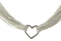 Tiffany & Co. Tiffany Co. Heart Mesh Necklace 15 - Sterling Silver Designer Gift