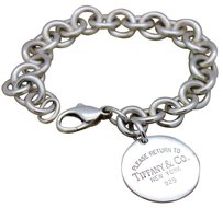 Tiffany & Co. Tiffany & Co. PLEASE RETURN TO TIFFANY Large Round Tag Bracelet