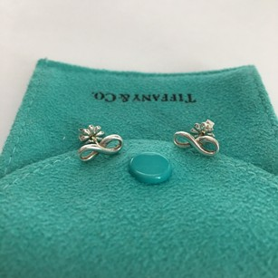 Tiffany & Co. Tiffany & Co Silver Mini Infinity Stud Earrings