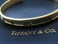Tiffany & Co. Tiffany Co 18kt Atlas Cuff Bracelet Yellow Gold