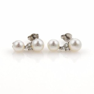 Tiffany & Co. Tiffany Co. Diamonds Platinum Pearls Aria Drop Dangle Earrings