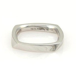 Tiffany & Co. Tiffany Co. Frank Gehry 18k White Gold Torque Ring