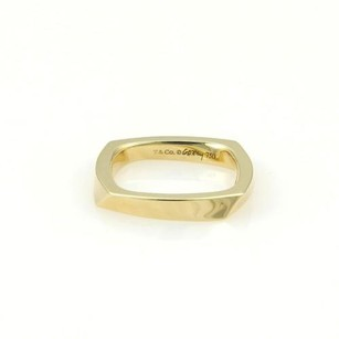 Tiffany & Co. Tiffany Co. Frank Gehry 18k Yellow Gold Torque Ring