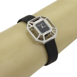 Tiffany & Co. Tiffany Co. Paloma Picasso Diamond Puzzle 18k White Gold Watch - Leather Band