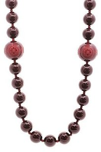 Tiffany & Co. Tiffany Co. Red Resin Paloma Picasso Zellige Bead Necklace