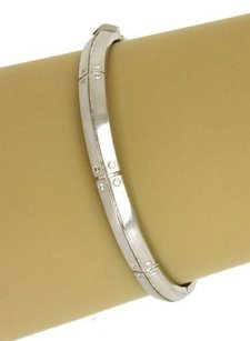 Tiffany & Co. Tiffany Co. Streamerica Diamonds 18k White Gold Bangle Bracelet