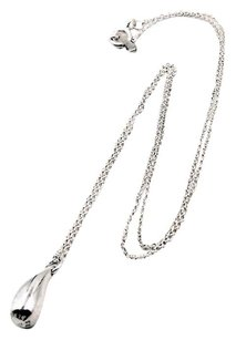 Tiffany & Co. Vintage Teardrop Sterling Silver Necklace 4J3852
