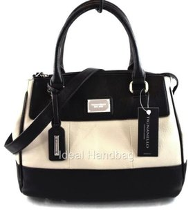 Tignanello Leather Social Satchel in Gray