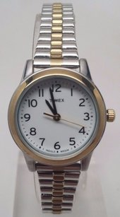 Timex Timex T2n068 Womens Two-tone Expansion Band Watch Indiglo T2n0689j