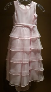 Tiptop Size 4 Baby Pink Flower Girl Dress