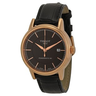 Tissot TISSOT Carson Black Dial Rose Gold-plated Men's Watch, T0854073606100