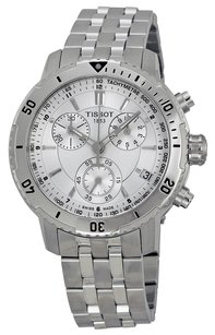 Tissot Tissot PRS 200 Chrono Silver Dial Men's watch #T067.417.11.031.00