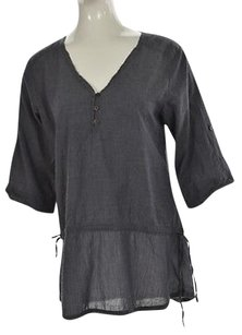 Toad&Co Horny Toad Womens Cotton 34 Sleeve Casual Shirt Tunic