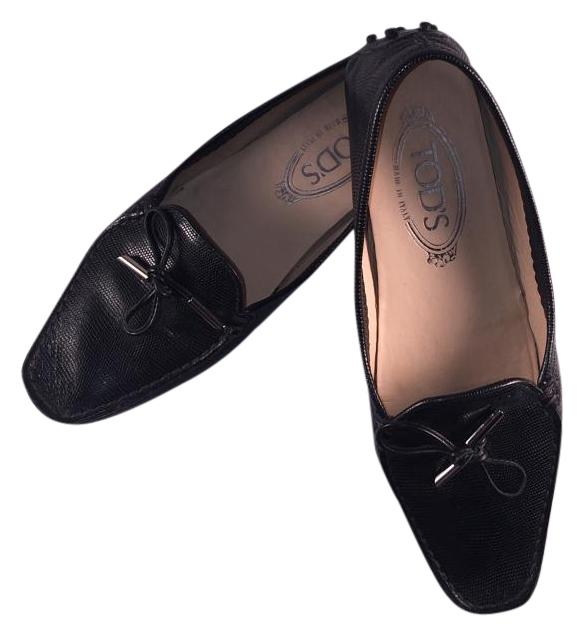Tod's Driving Black Women's Bilbao Laccetto Driving Tod's Moccasin Loafer 5.5/35.5 Flats Size US 5.5 Regular (M, B) 4e01a7