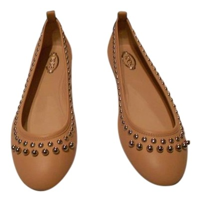 Cheap Sale Outlet Store Purchase Sale Online Tod's Studded-leather ballet flats Exclusive Amazon Cheap Online Supply For Sale cytdfbmBMu